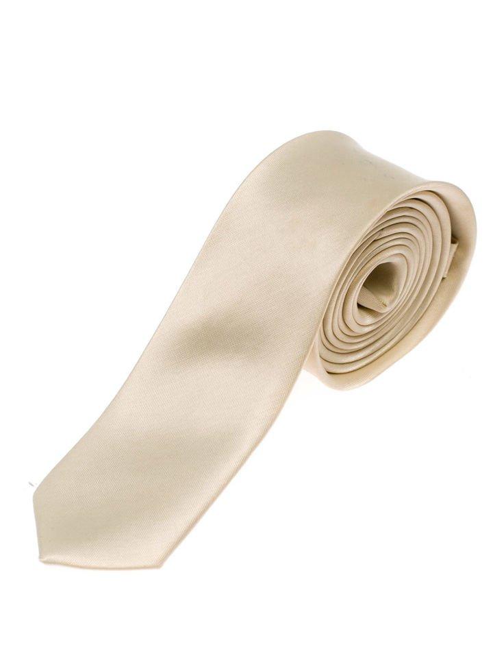 Béžová pánska elegantná kravata BOLF K001