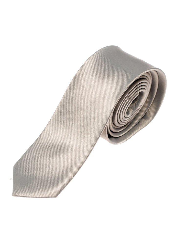 Šedá pánska elegantná kravata BOLF K001