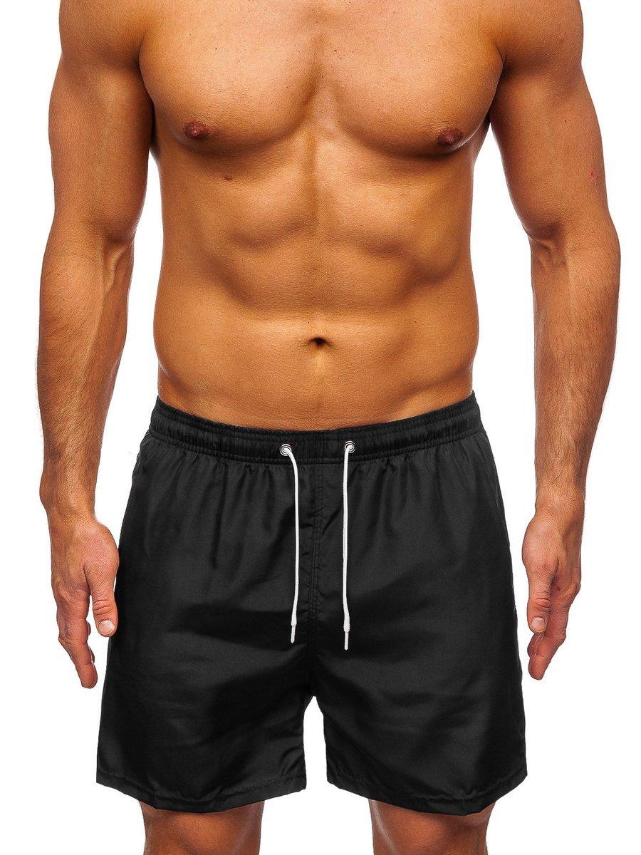 Čierne pánske kúpacie šortky Bolf ST019