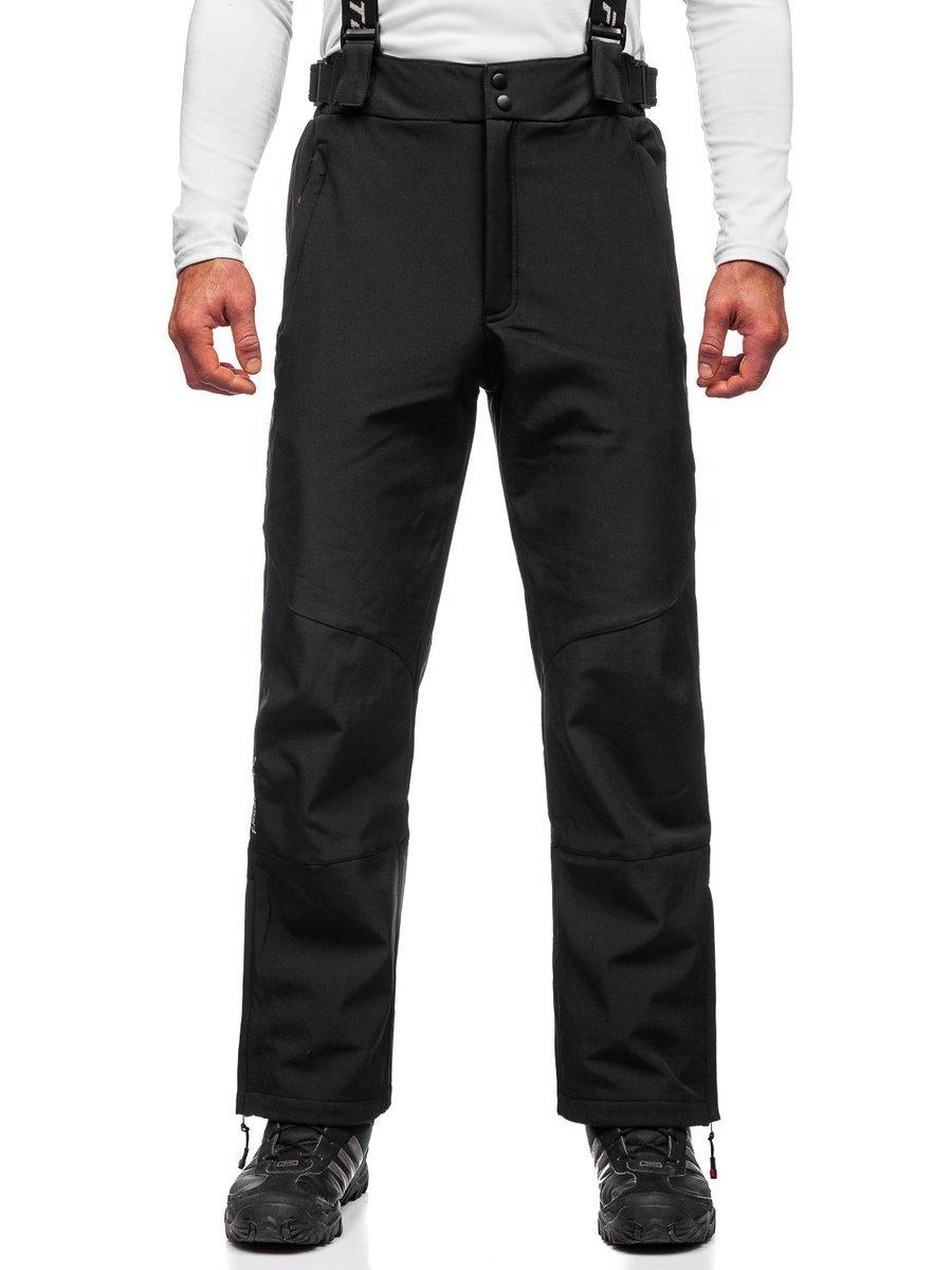 Čierne pánske lyžiarske nohavice Bolf BK160
